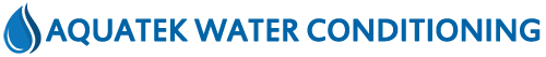 Aquatek water logo
