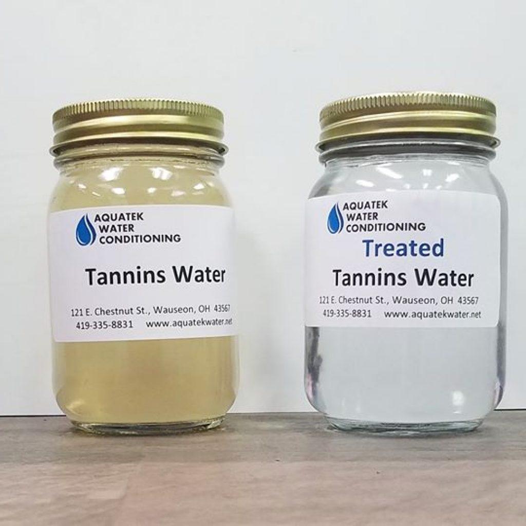 tannins water