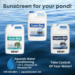 Image of Pond Dyes that Aquatek Water Conditioning carries