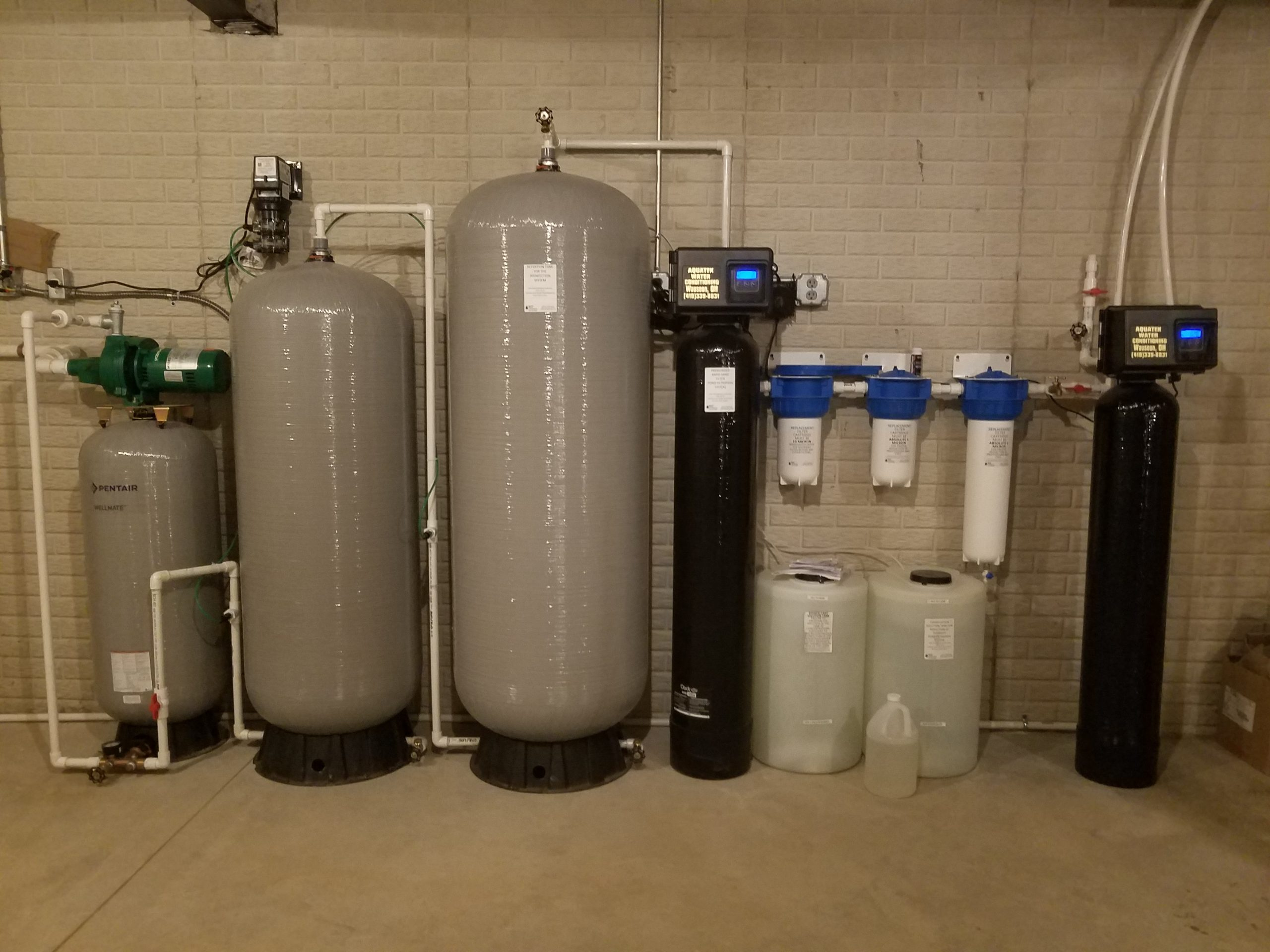 2021 Pond Water Treatment System Installation picture
