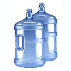 Aquatek Water Conditioning carries 5 gallon jugs of spring water and distilled water