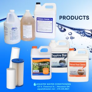 Aquatek Water Conditioning offers a wide variety of products for water treatment.